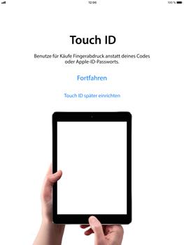 Apple iPad Air 2 - iOS 11 - Persönliche Einstellungen von einem alten iPhone übertragen - 11 / 29