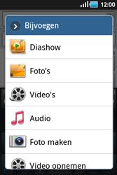 Samsung S5660 Galaxy Gio - MMS - afbeeldingen verzenden - Stap 7