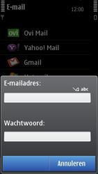 Nokia C7-00 - e-mail - handmatig instellen - stap 8