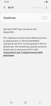 Samsung Galaxy S9 - Android Pie - WiFi - Configurazione WiFi - Fase 6