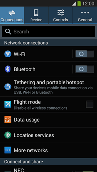 Samsung Galaxy Note III LTE - Mobile phone - Resetting to factory settings - Step 4