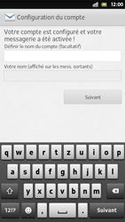 Sony Xperia S - E-mail - Configuration manuelle - Étape 16