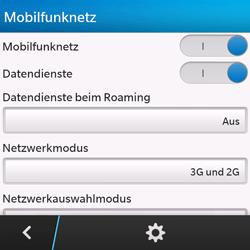 BlackBerry Q10 - Netzwerk - Netzwerkeinstellungen ändern - 6 / 8