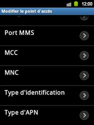 Samsung Galaxy Y - Internet et roaming de données - Configuration manuelle - Étape 13