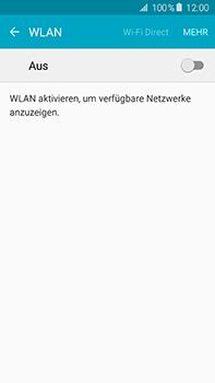 Samsung Galaxy A8 - WiFi - WiFi-Konfiguration - Schritt 5