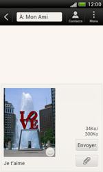 HTC T328e Desire X - MMS - envoi d'images - Étape 11