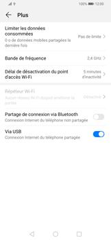 Huawei P Smart Z - Internet et connexion - Utiliser le mode modem par USB - Étape 9