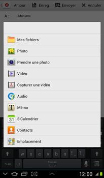 Samsung P3100 Galaxy Tab 2 7-0 - E-mail - envoyer un e-mail - Étape 10