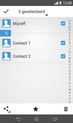 Sony D2005 Xperia E1 - Contactgegevens overzetten - delen via Bluetooth - Stap 8
