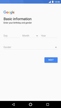 Nokia 6 (2018) - Applications - Create an account - Step 7