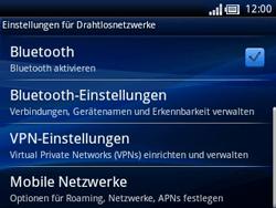 Sony Ericsson Xperia X10 Mini Pro - MMS - Manuelle Konfiguration - Schritt 6
