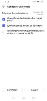 Huawei P30 Lite - E-mail - Configurer l