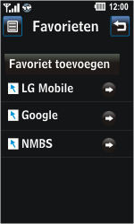 LG GD510 Pop - Internet - Internetten - Stap 11