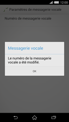 Sony D6503 Xperia Z2 - Messagerie vocale - configuration manuelle - Étape 10