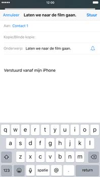 Apple iPhone 6s Plus - E-mail - Bericht met attachment versturen - Stap 7