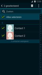 Samsung G901F Galaxy S5 Plus - Contactgegevens overzetten - delen via Bluetooth - Stap 7