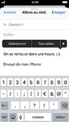 Apple iPhone SE - iOS 12 - E-mail - envoyer un e-mail - Étape 8