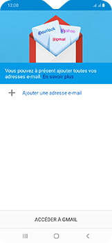 Samsung Galaxy A20e - E-mails - Ajouter ou modifier votre compte Gmail - Étape 6