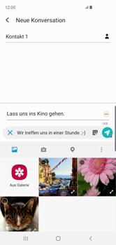 Samsung Galaxy S10 - MMS - Erstellen und senden - Schritt 19