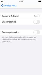 Apple iPhone SE - iOS 13 - Netzwerk - So aktivieren Sie eine 4G-Verbindung - Schritt 5