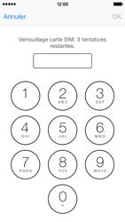 Apple iPhone 5c - Sécuriser votre mobile - Personnaliser le code PIN de votre carte SIM - Étape 6