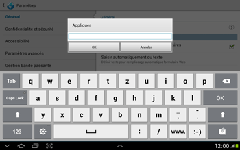 Samsung Galaxy Tab 2 10.1 - Internet et roaming de données - Configuration manuelle - Étape 23