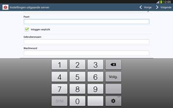Samsung P5220 Galaxy Tab 3 10-1 LTE - E-mail - e-mail instellen: POP3 - Stap 14