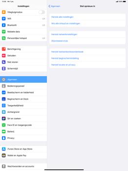 Apple iPad Pro 12.9 inch 4th generation (2020) (Model A2232) - Instellingen aanpassen - Fabrieksinstellingen terugzetten - Stap 5