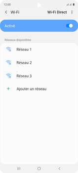 Samsung Galaxy A51 - Internet et connexion - Accéder au réseau Wi-Fi - Étape 7