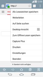 LG G3 - Internet und Datenroaming - Verwenden des Internets - Schritt 7