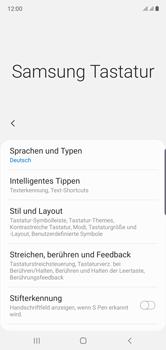 Samsung Galaxy Note 10 - Startanleitung - So fügen Sie eine Tastatursprache hinzu - Schritt 8