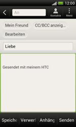 HTC Desire X - E-Mail - E-Mail versenden - 8 / 16