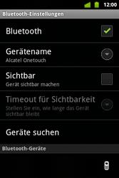 Alcatel OT-983 - Bluetooth - verbinden von Geräten - Schritt 10