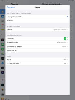 Apple ipad-10-2-7th-gen - E-mail - configuration manuelle - Étape 22