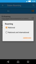 Sony Xperia M4 Aqua - Ausland - Im Ausland surfen – Datenroaming - 9 / 13