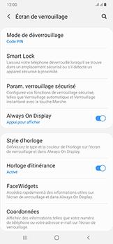 Samsung Galaxy A50 - Sécurité - activéz le code PIN de l'appareil - Étape 13
