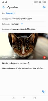 Huawei P20 Lite Dual-SIM (Model ANE-LX1) - E-mail - Hoe te versturen - Stap 15