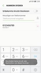 Samsung Galaxy S6 Edge (G925F) - Android Nougat - Anrufe - Anrufe blockieren - Schritt 11