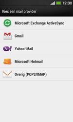 HTC Desire 500 - E-mail - e-mail instellen: IMAP (aanbevolen) - Stap 5