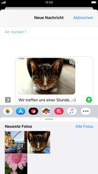 Apple iPhone 8 Plus - iOS 13 - MMS - Erstellen und senden - Schritt 17