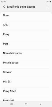 Samsung Galaxy J6 Plus - Internet - configuration manuelle - Étape 13