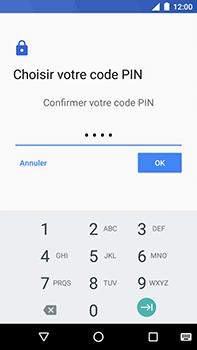 Motorola Moto E4 Plus - Sécuriser votre mobile - Activer le code de verrouillage - Étape 10