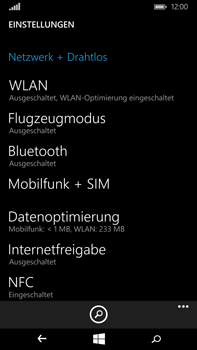 Microsoft Lumia 640 XL - Ausland - Auslandskosten vermeiden - Schritt 6