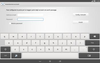 Sony Xperia Tablet Z2 LTE - E-mail - configurazione manuale - Fase 6