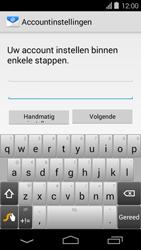 Acer Liquid E600 - E-mail - Handmatig instellen - Stap 6