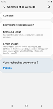 Samsung Galaxy J4 Plus - Données - créer une sauvegarde avec votre compte - Étape 5