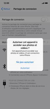 Apple iPhone XS - iOS 12 - Internet et connexion - Utiliser le mode modem par USB - Étape 5