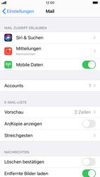 Apple iPhone 6s - iOS 14 - E-Mail - Manuelle Konfiguration - Schritt 15