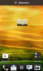HTC Desire X - Startanleitung - Installieren von Widgets und Apps auf der Startseite - Schritt 5