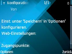 Nokia E71 - Internet - Automatische Konfiguration - Schritt 10